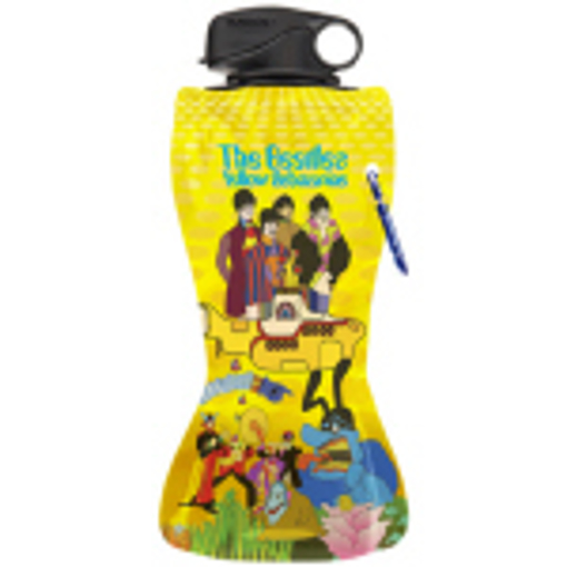 Picture of Beatles Drinkware: The Beatles Yellow Submarine Collapsible Water Bottle