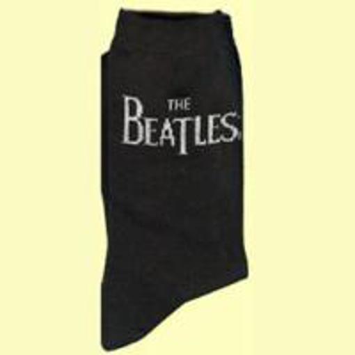 Picture of Beatles Socks: The Beatles Mens Socks Drop T Logo
