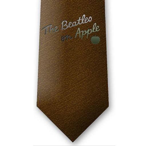 Picture of Beatles Tie: Burnt Amber