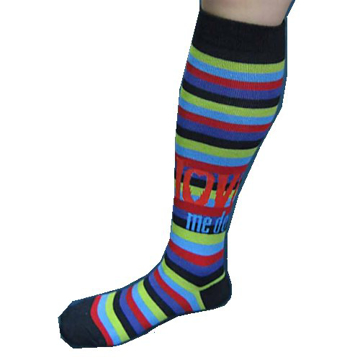 "Picture of Beatles Socks: The Beatles Women's Knee High Socks ""Love Me Do"""