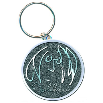 Picture of Beatles Key Chain: John Lennon Self Portrait (Chrome)