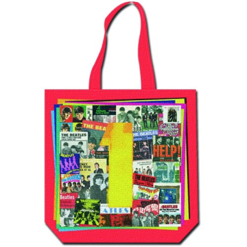 Picture of Beatles Tote:  One Singles Album