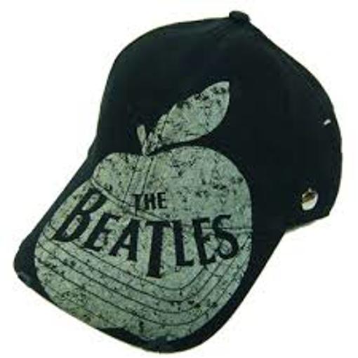 "Picture of Beatles Cap: The Beatles ""Distressed"" Apple  Logo Cap"