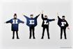 Picture of Beatles ART: BEATLES HELP LARGE CANVAS ART
