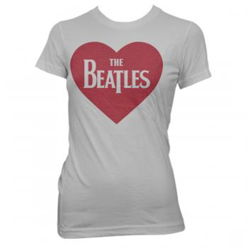 Picture of Beatles Female T-Shirt: I Heart The Beatles