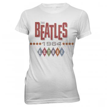 Picture of Beatles Female T-Shirt: Beatles 1964