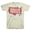 Picture of Beatles Adult T-Shirt: 1964 Tour of America