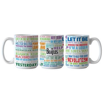 Picture of Beatles Mug:The Beatles Big Hits