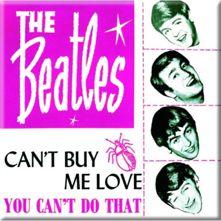Picture of Beatles Magnets: The Beatles Many Styles MAG-Can't buy me Love