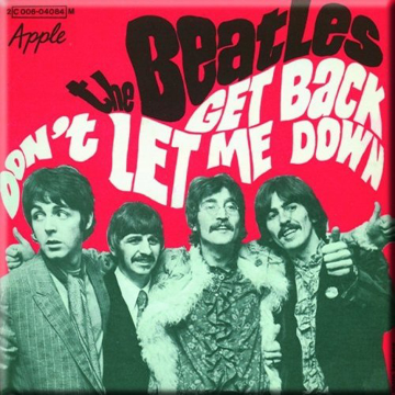 Picture of Beatles Magnets: The Beatles Many Styles MAG-Don't Let Me Down