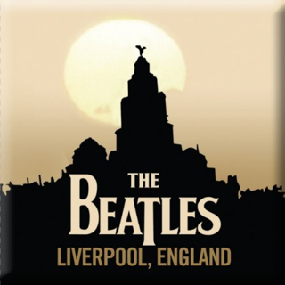Picture of Beatles Magnets: The Beatles Many Styles MAG-Liverpool, England