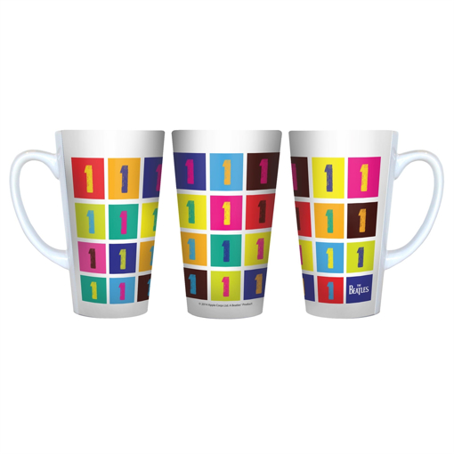 """Picture of Beatles Mug: """"One"""" Latte Style"""