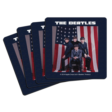 Picture of Beatles Coasters: The Beatles Coasters (US Flag)