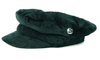 "Picture of Beatles Cap: Cord Hat  ( Silver apple)  Large Size Hat (22""inch)"