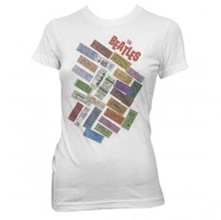 Picture of Beatles Female T-Shirt: Beatles 1964 Concert Tickets Medium