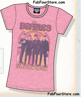 Picture of Beatles T-Shirt: I'll Follow the Sun XL - Jrs/Ladies