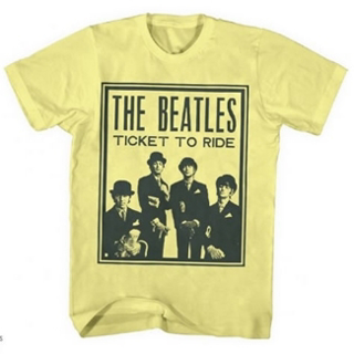 Picture of Beatles T-Shirt: Beatles Ticket to Ride Small-Adult-Size