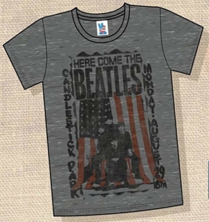 Picture of Beatles T-Shirt: Here come the SF Sun Medium-Adult-Size