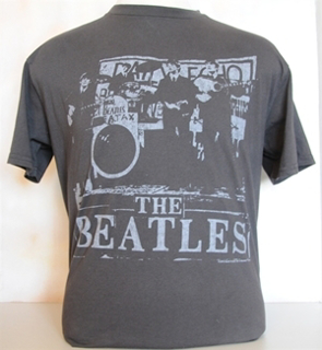 """Picture of Beatles T-Shirt: Junk Food Adult """"Early Day's"""" Small-Adult-Size"""