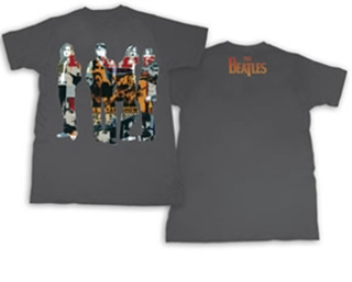 Picture of Beatles T-Shirt: The Beatles Graffiti Small-Adult-Size