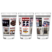 Picture of Beatles Glass: 1964 US Album Covers Pint Glass