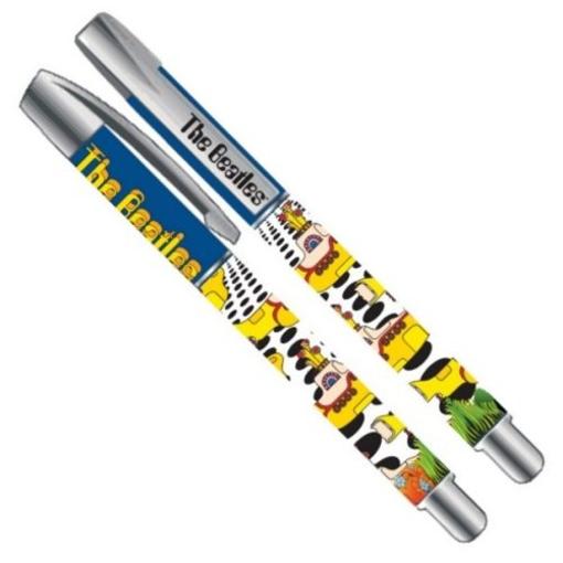 Picture of Beatles Pen: Yellow Submarine Gel Pen (Sea of Holes)