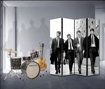 Picture of Beatles Room Divider: The Beatles Walking London 1963 (4 Panel)