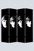 Picture of Beatles Room Divider: With/Meet the Beatles With/Meet the Beatles ( 4 Panel)