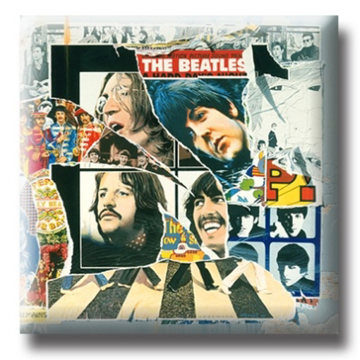 Picture of Beatles Pin: The Beatles Anthology 2 flat pin