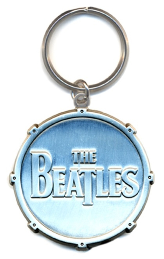 Picture of Beatles Keychain: The Beatles All Metal Drum Logo