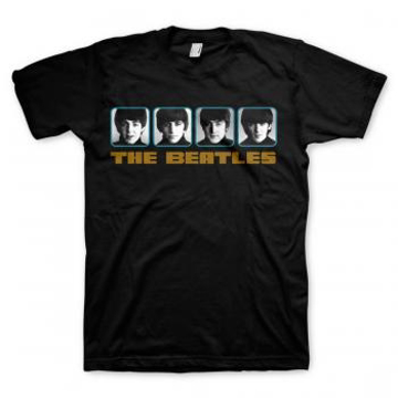 "Picture of Beatles Adult T-Shirt: ""A Hard Day's Night' Panel"