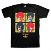 "Picture of Beatles Adult T-Shirt: ""Sea Of  Faces"""