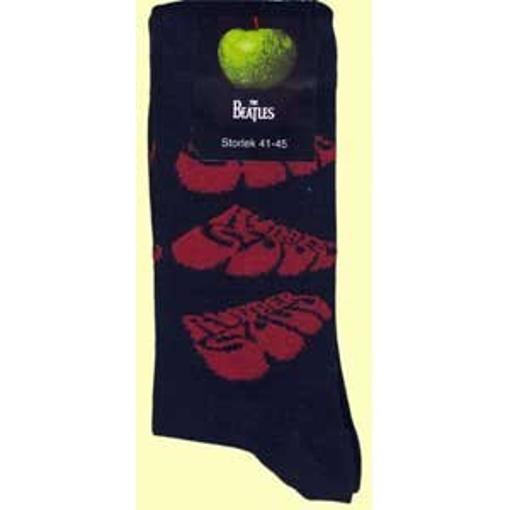 Picture of Beatles Socks: The Beatles Women's (Black) Rubber Soul socks