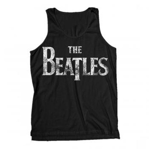 Picture of Beatles Adult T-Shirt: Classic Drop-T Distressed Tank Top