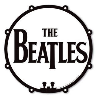 Picture of Beatles Mouse Pads: The Beatles - Drum Logo