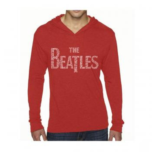 Picture of Beatles Jacket: Song Lyrics in Drop T logo
