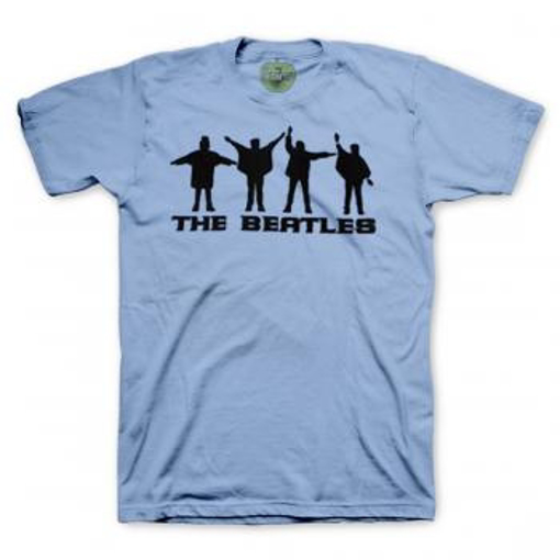 Picture of Beatles Adult T-Shirt: Help Blue
