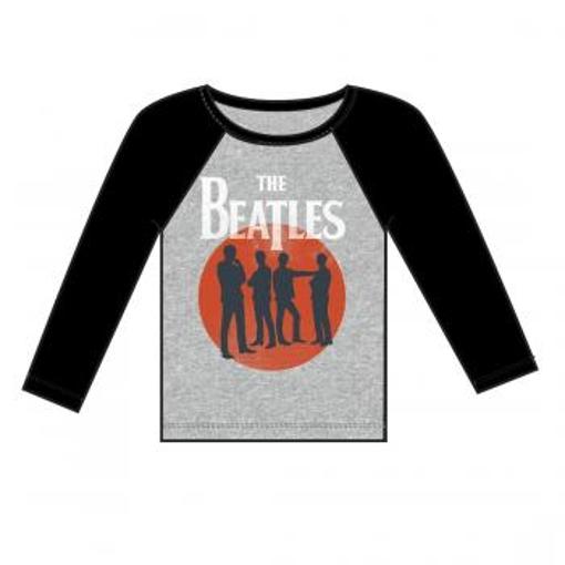Picture of Beatles Jr's T-Shirt: Silhoutte (Raglan)