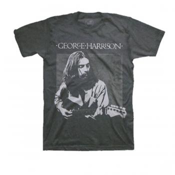 Picture of Beatles Adult T-Shirt: George  Live