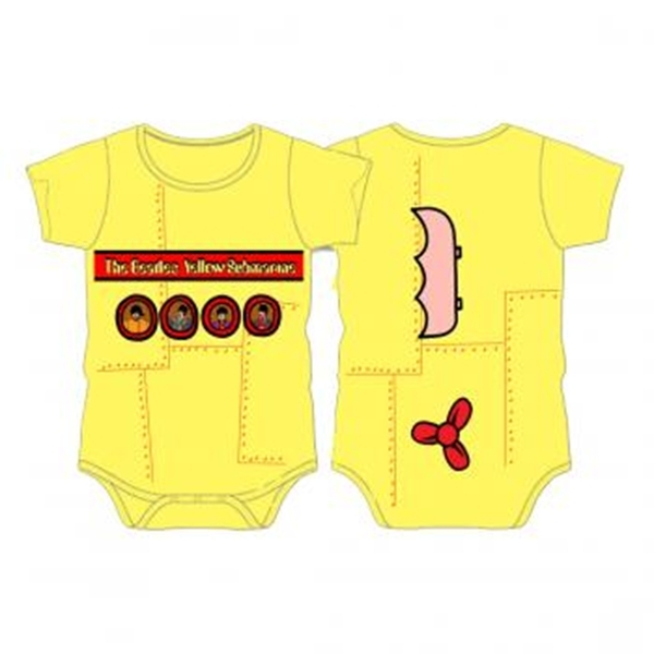Beatles Onesie Yellow Submarine Beatles Fab Four Store