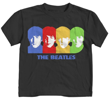 Picture of Beatles T-Shirt: Beatles Toddler Hard Day's Color