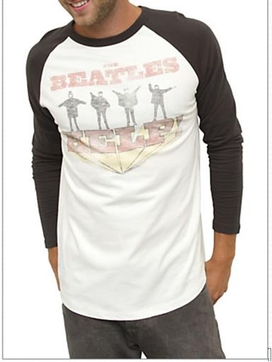 Picture of Beatles T-Shirt: Beatles HELP! long Sleeves