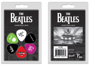 Picture of Beatles Guitar Picks: 6 Pack