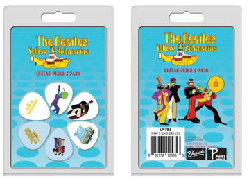 Picture of Beatles Guitar Picks : Yellow Submarine Six Packs