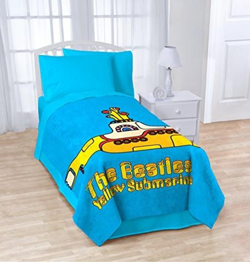 Picture of Beatles Blanket: Yellow Submarine Blanket