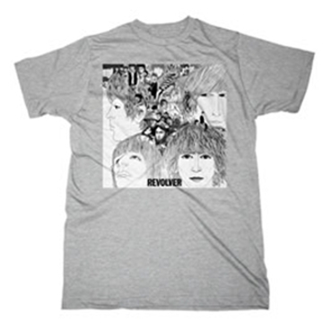 Picture of Beatles Adult T-Shirt: Classic Revolver Cover