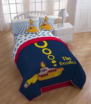 Picture of Beatles Comforter: Yellow Submarine