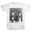 Picture of Beatles Adult T-Shirt: Fab 4 Stache