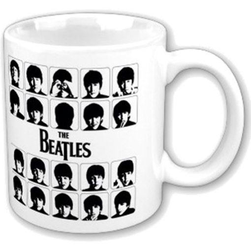 Picture of Beatles Mug: Hard Day's Night White