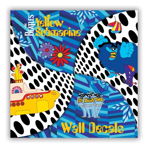 Picture of Beatles Wall Decals: Yellow Submarine Wall Decals